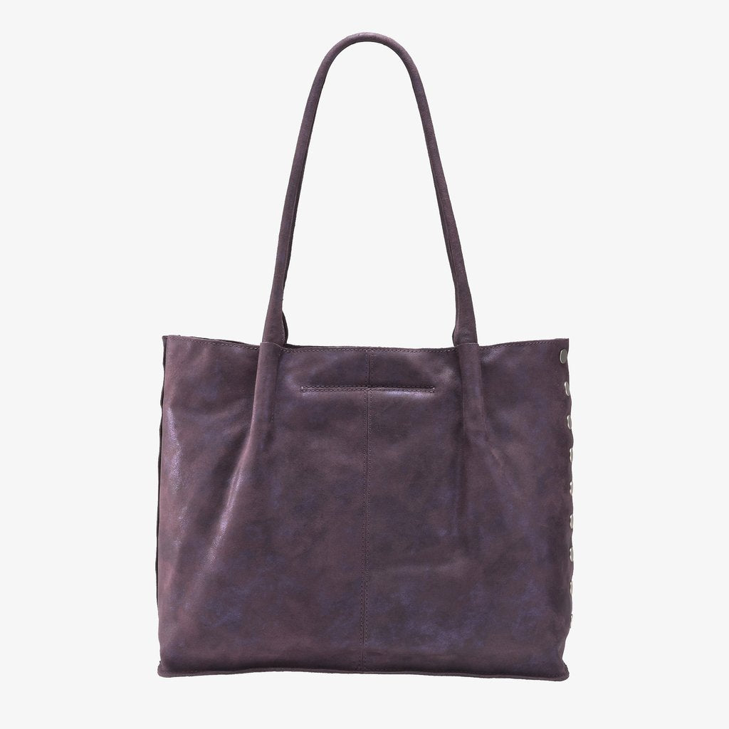 Hammitt Oliver Zippered Tote- Grape