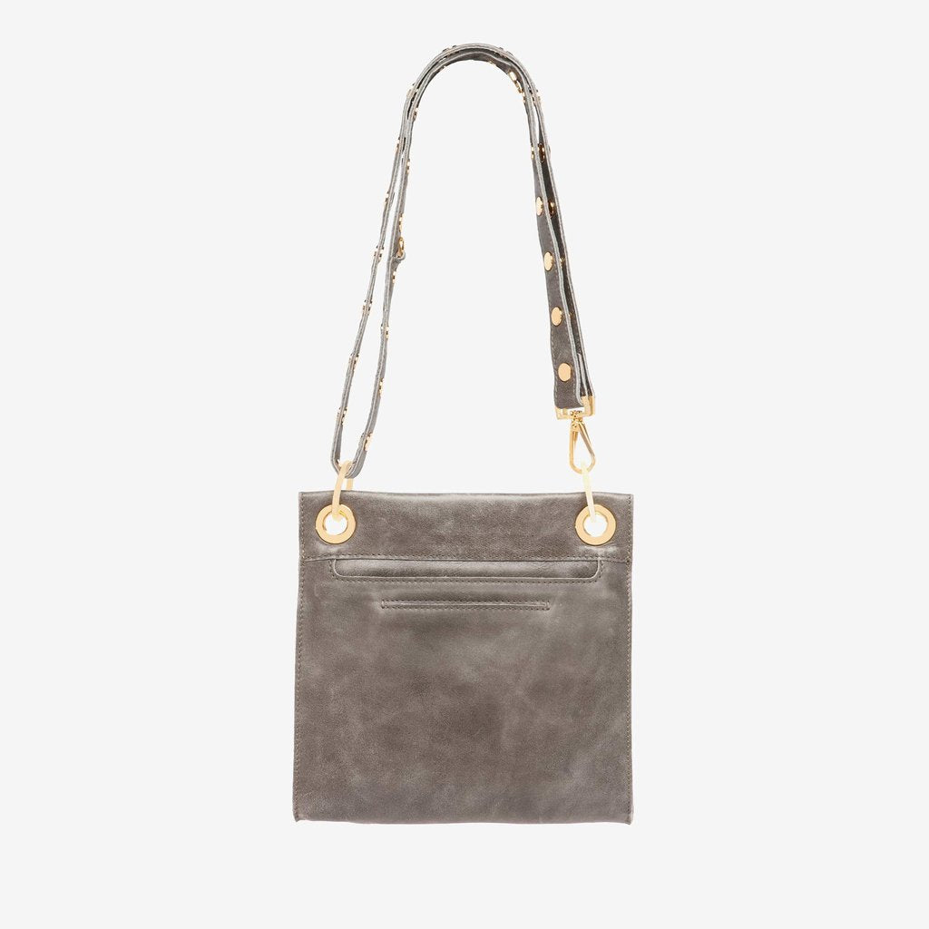 Hammitt Tony Medium Crossbody- Pewter