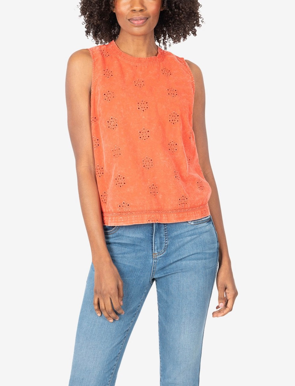 KUT Jaquetta Sleeveless Top