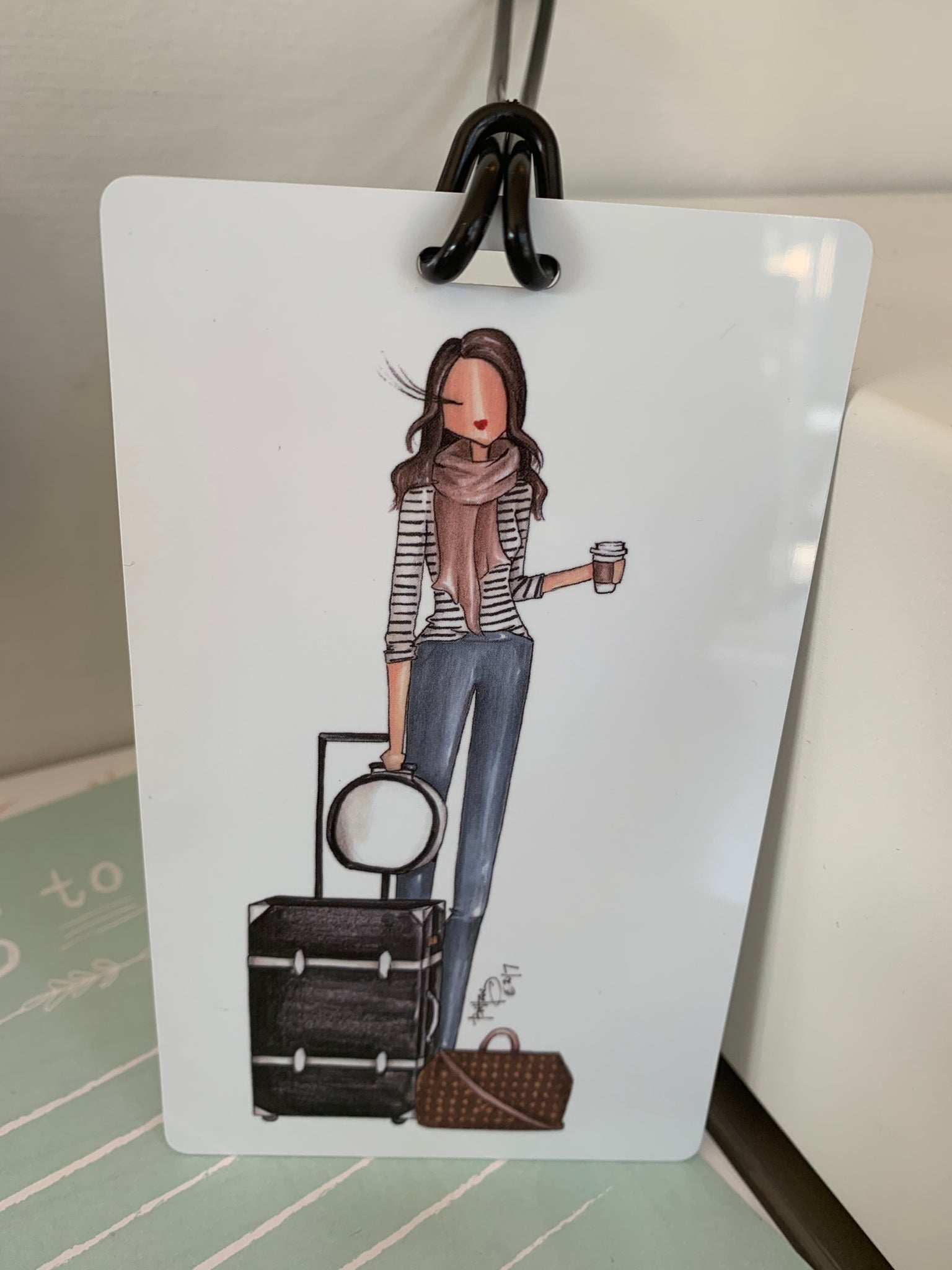 Hartsfield Luggage Tag