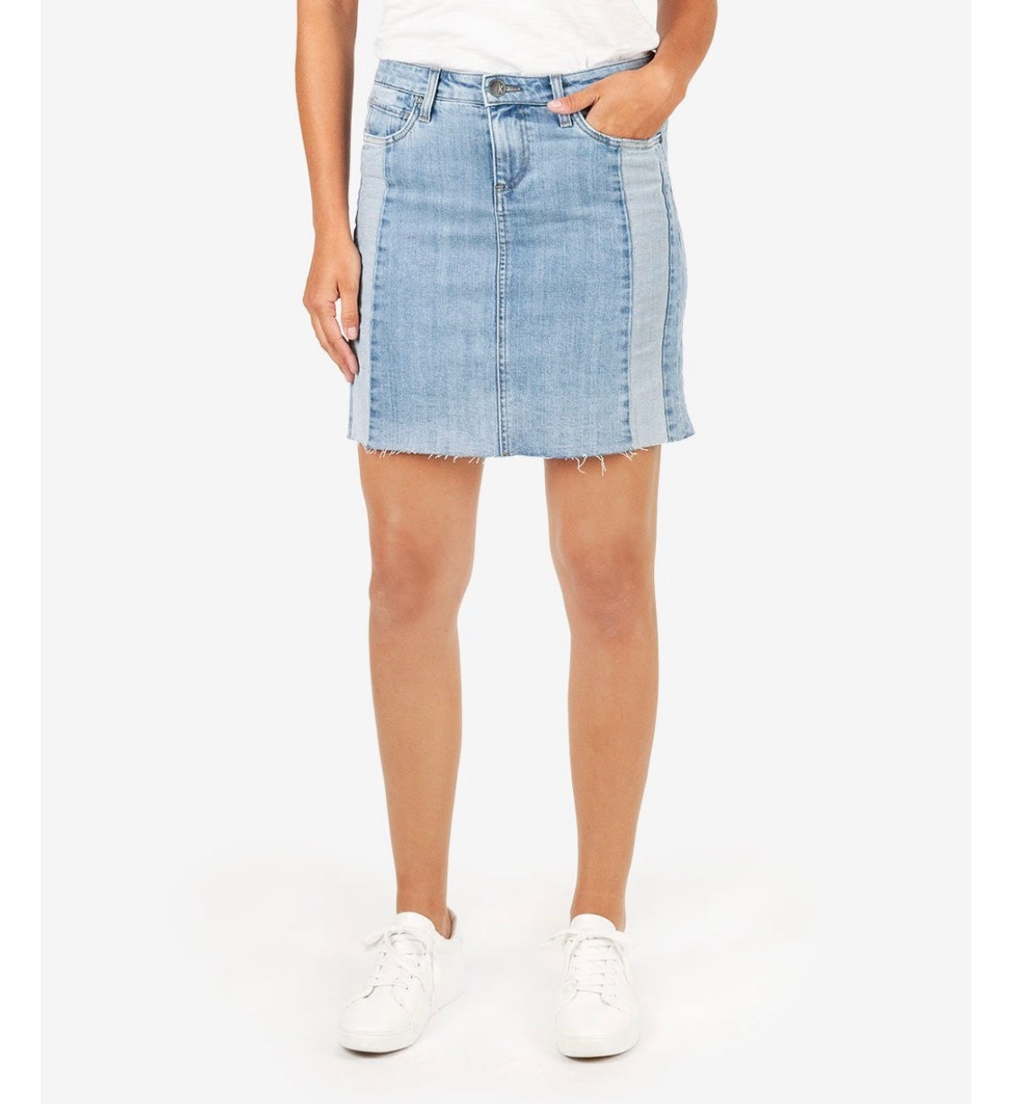 KUT Denim Skirt