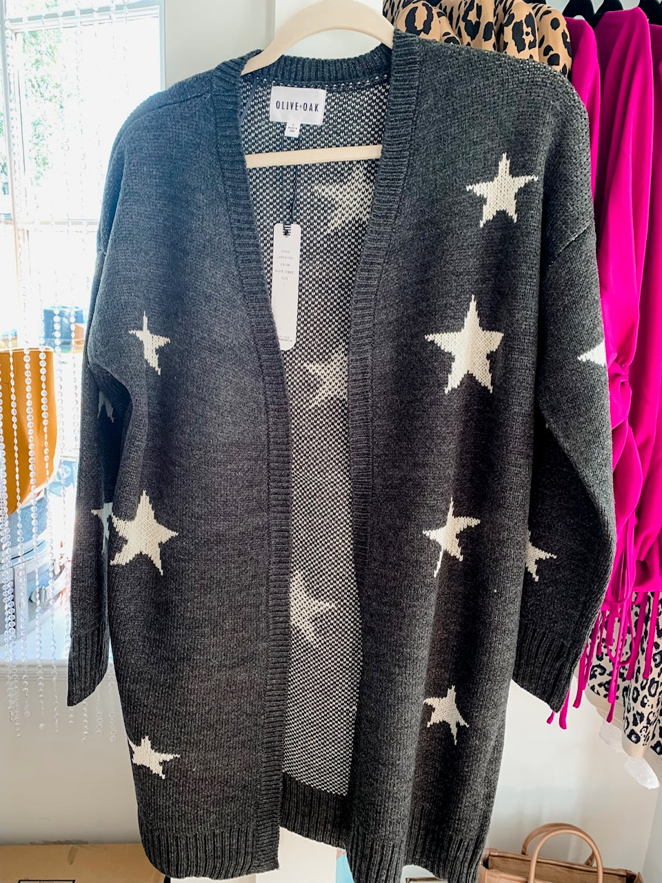 Olive & Oak Star Cardigan