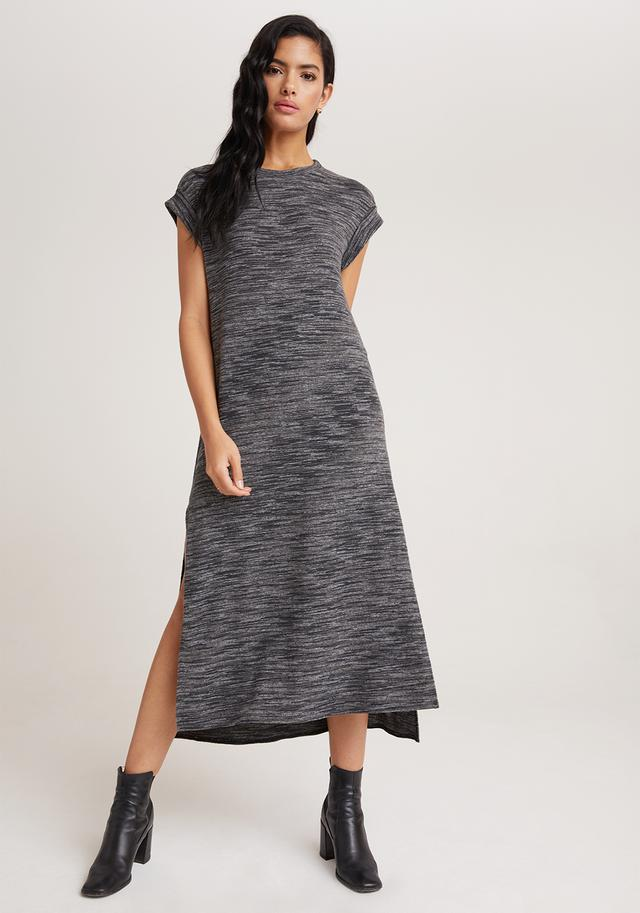 Bella Dahl Roll Sleeve Maxi Dress