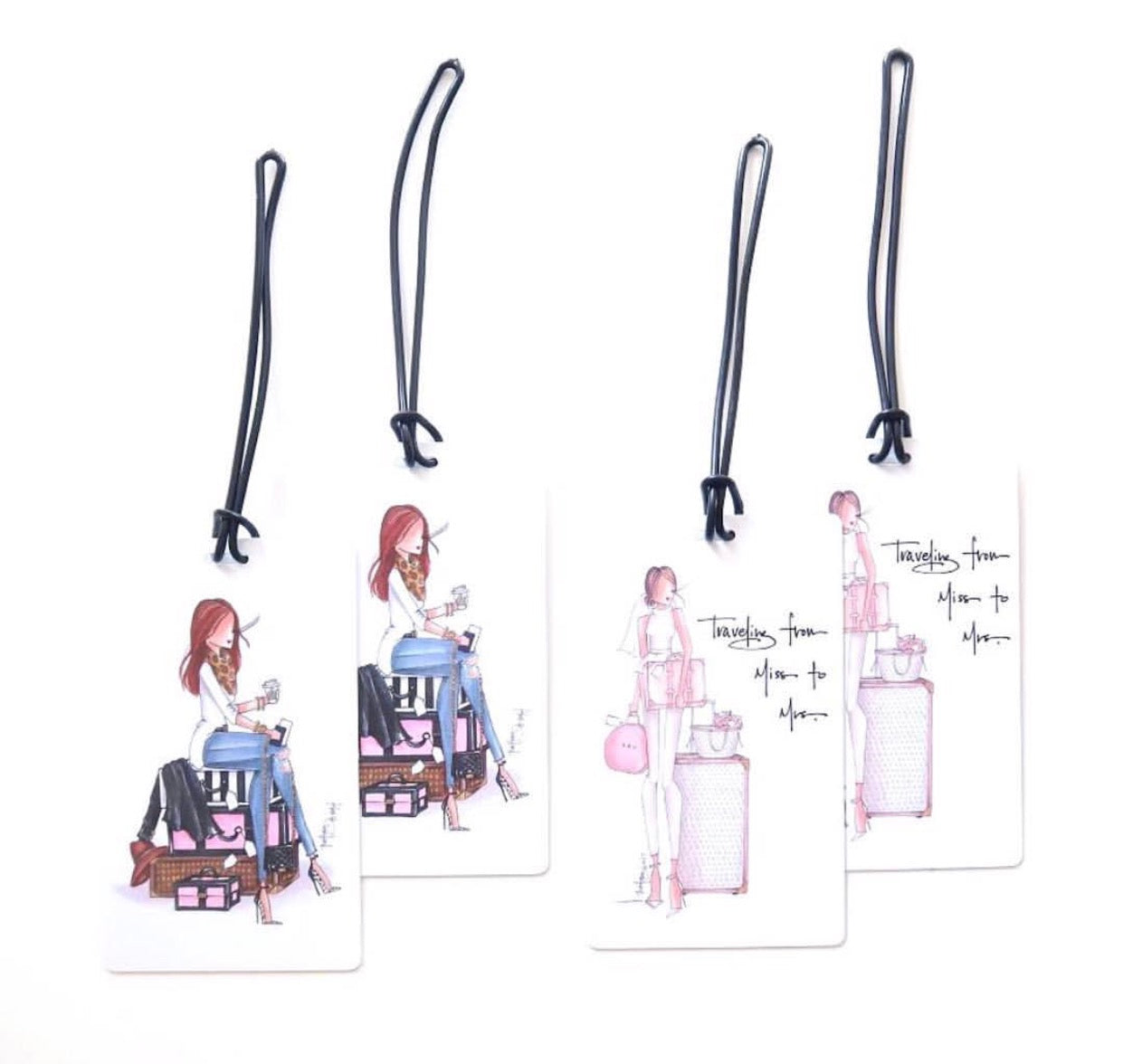 Miss Luggage Tag