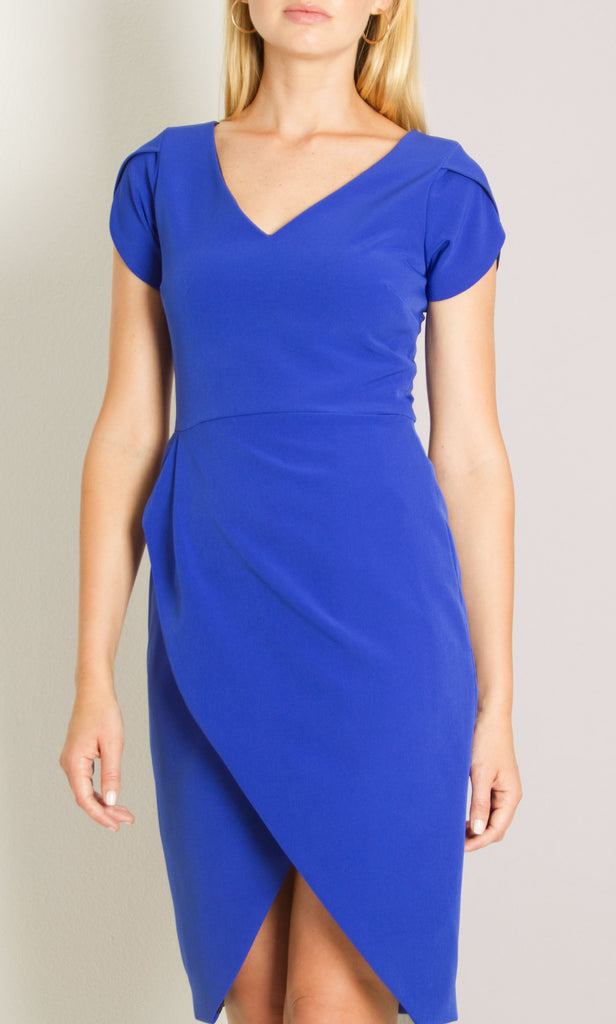 Camilyn Beth Luna Dress- Cobalt