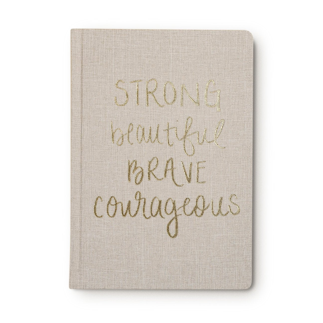 SWD Strong Beautiful Brave Fabric Notebook