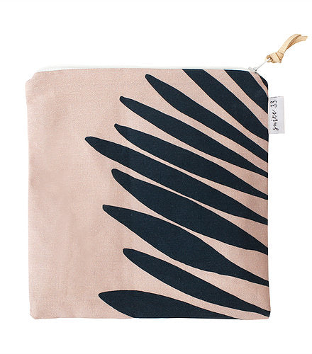 Blush Palmetto Travel Purse