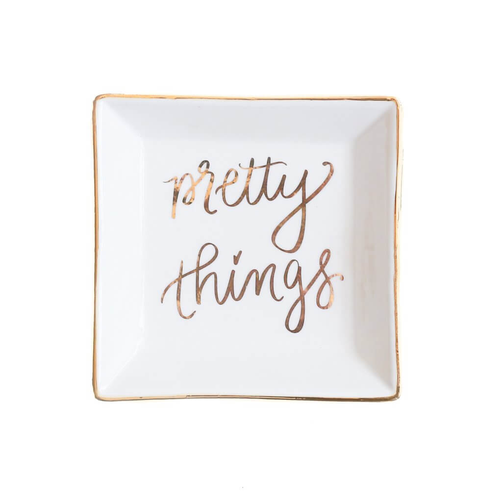 Pretty Things Jewelry Dish