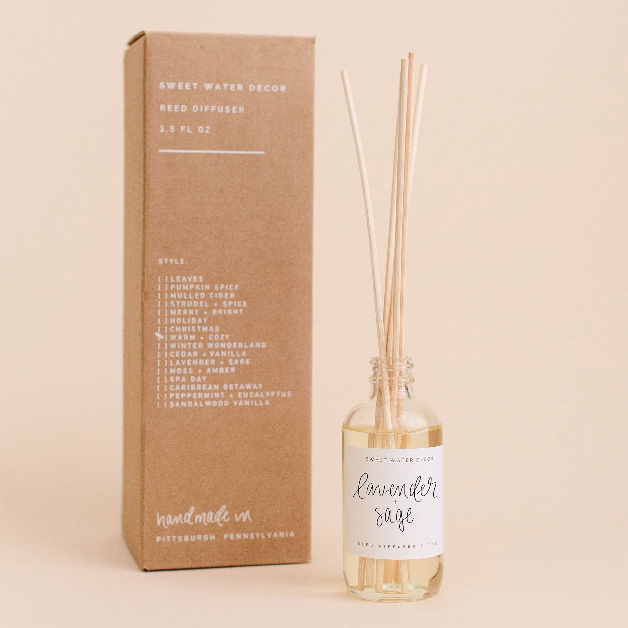 SWD Lavender & Sage Reed Diffuser