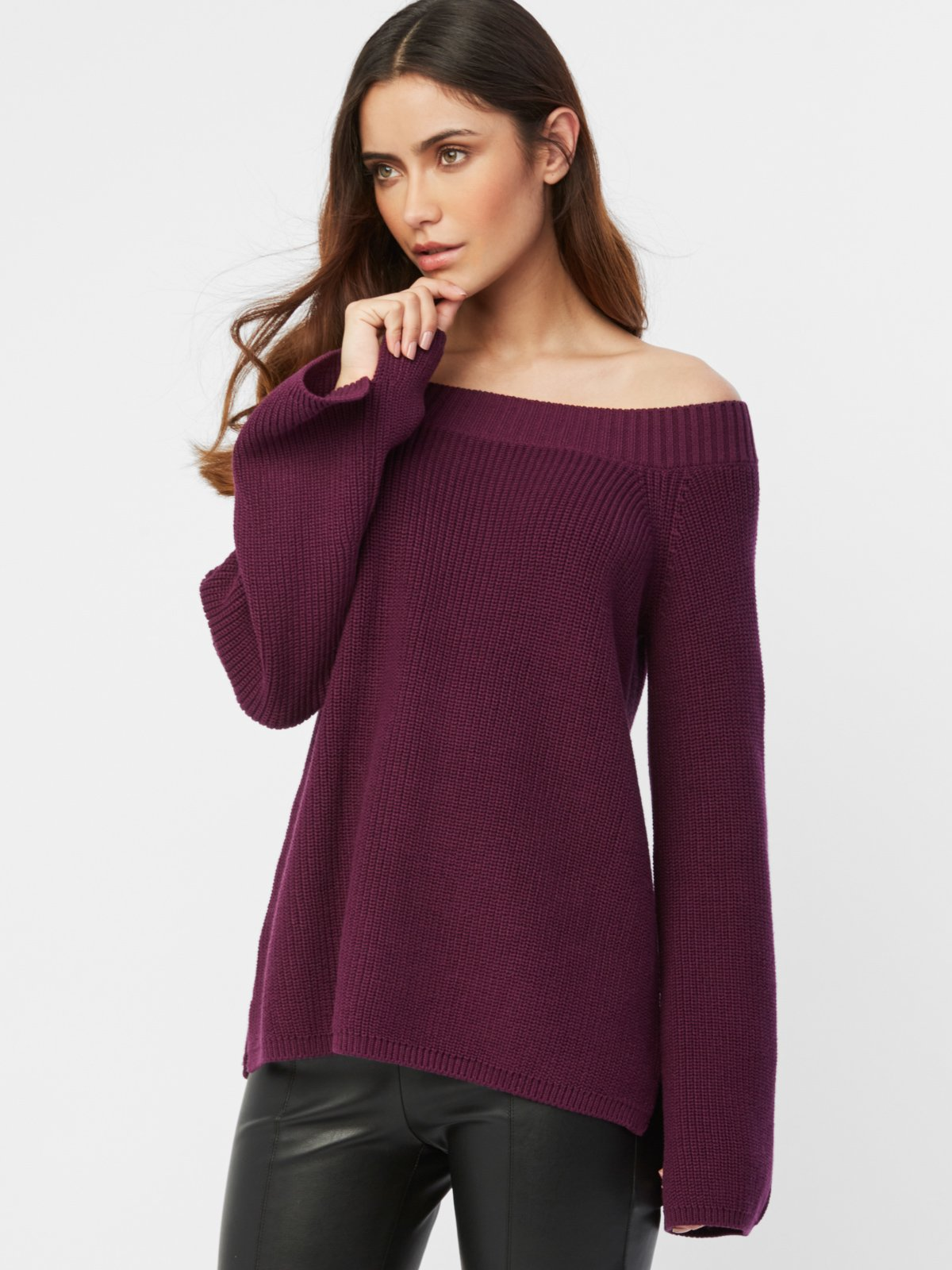 525 America Cotton Shaker Off Shoulder