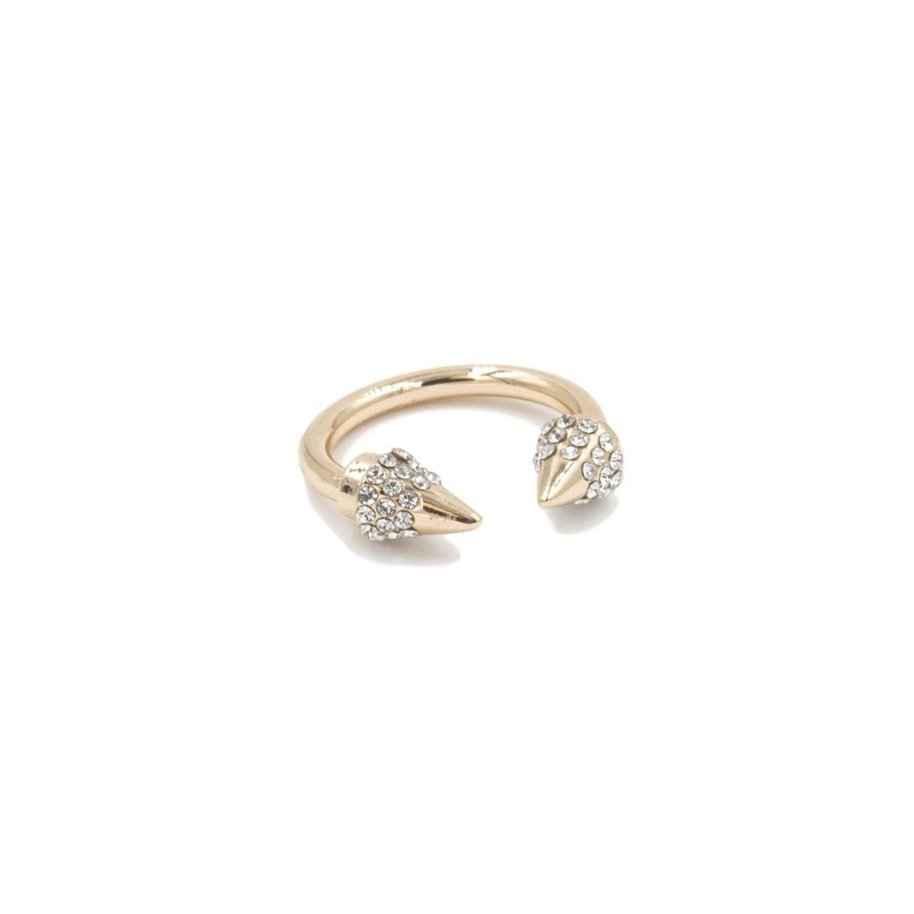 Kinsley Armelle Spike Collection- Gold Ring