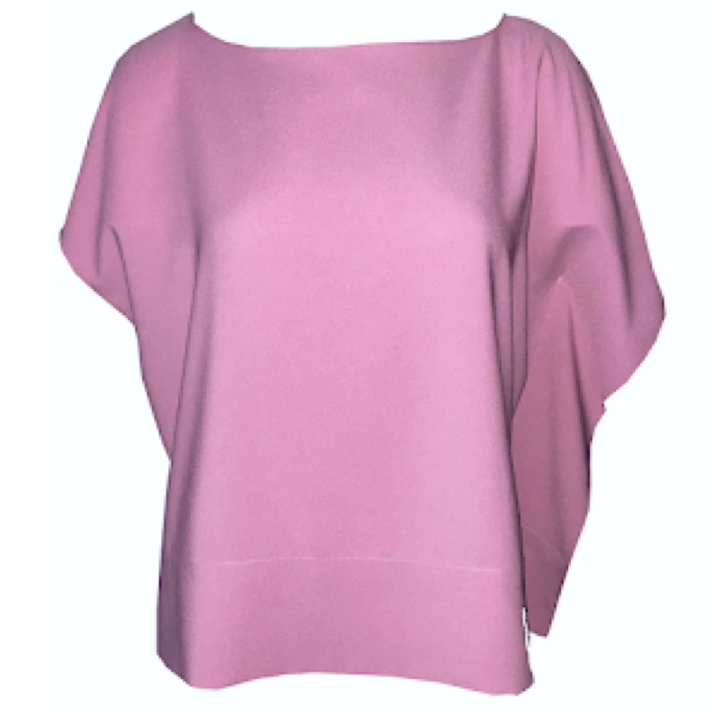 Anna Cate Victoria Top- Rose