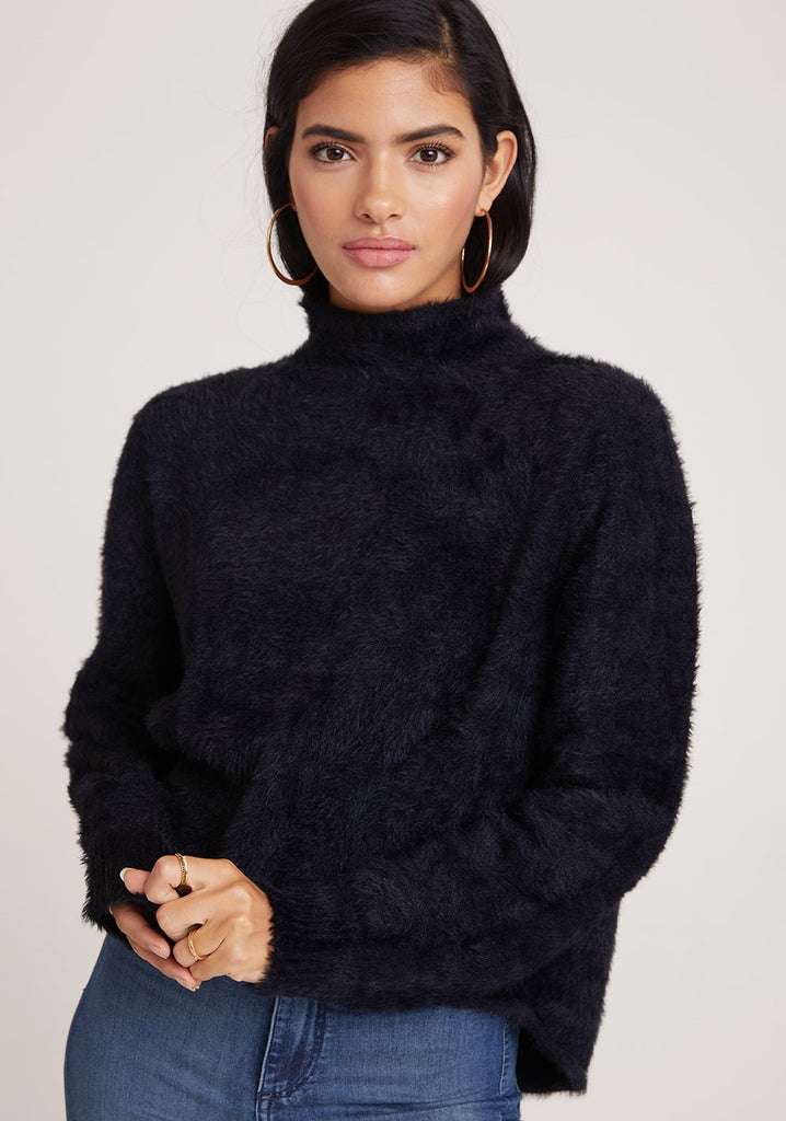 Bella Dahl Mock Neck Sweater