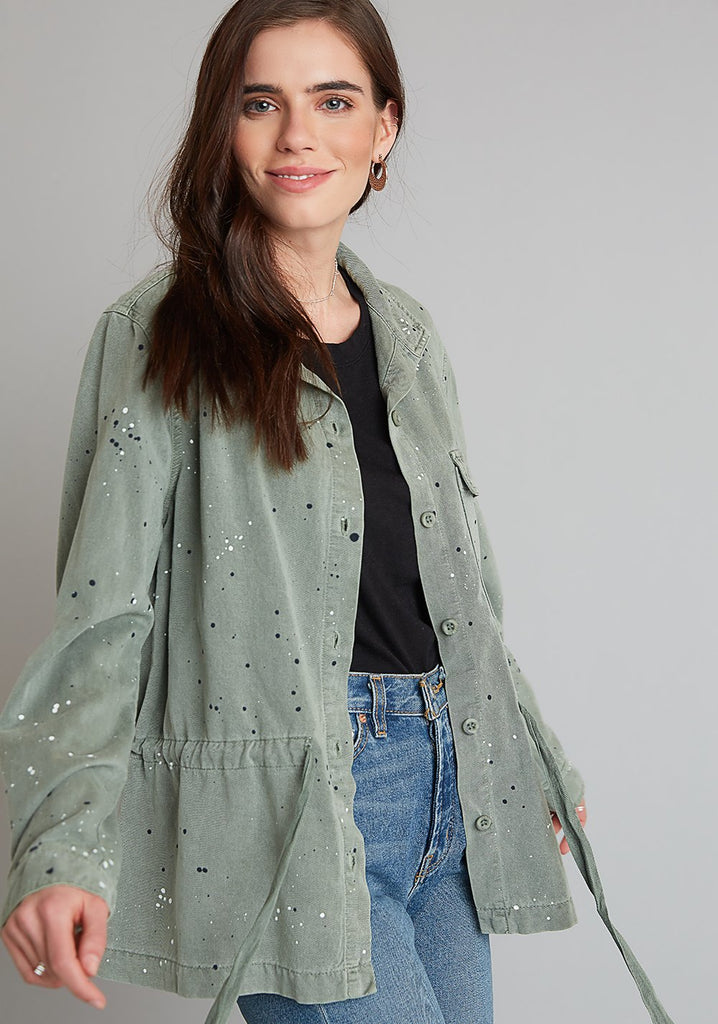 Bella Dahl Tie Waist Shacket