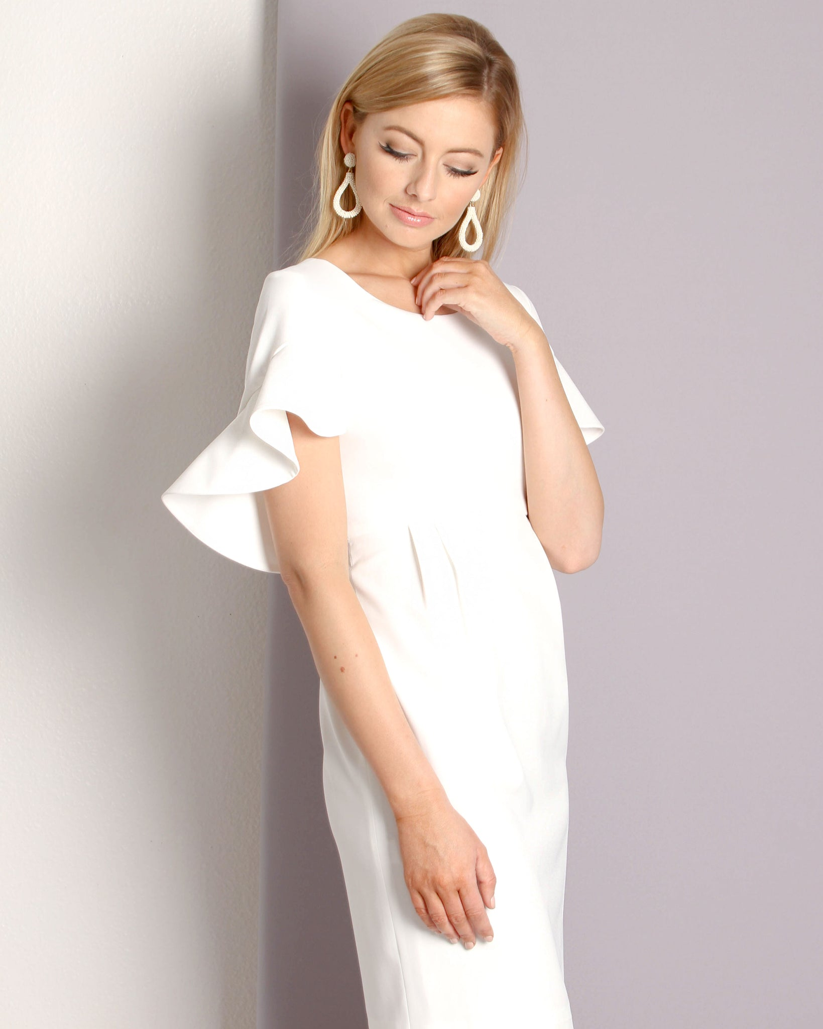 Camilyn Beth Wilma Dress- Ivory