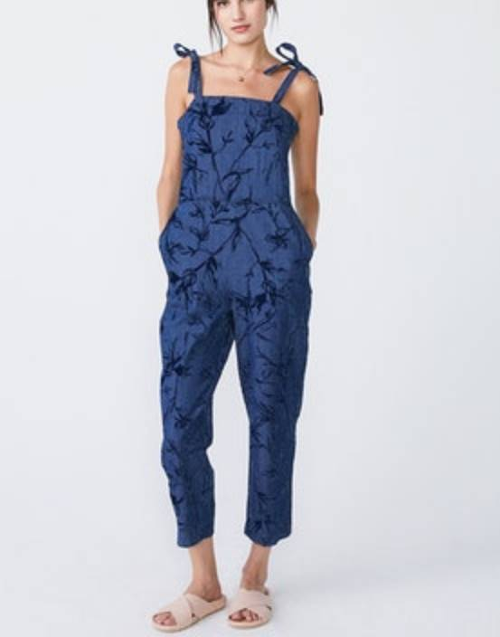 Unpublished Lina Chambray Sketch Jumpsuit