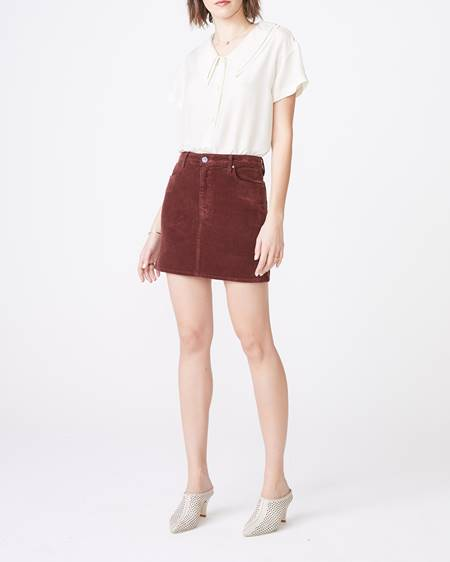 Unpublished Hickory Cord Skirt