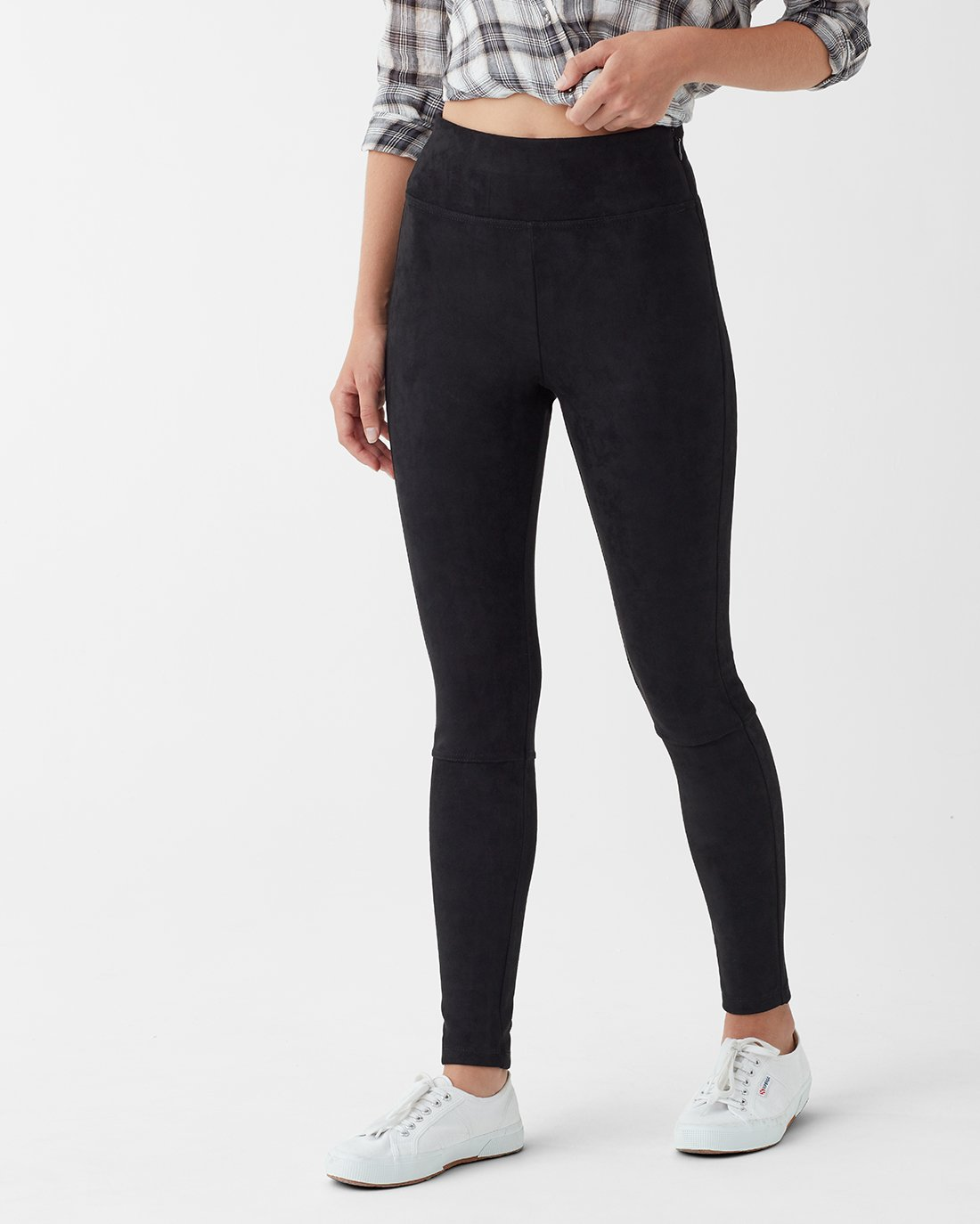 Splendid Highline Faux Suede Legging