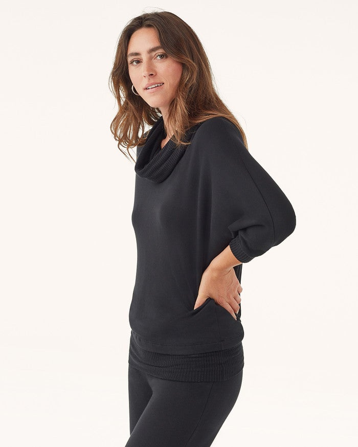 Splendid LS Cowl Neck Sweater