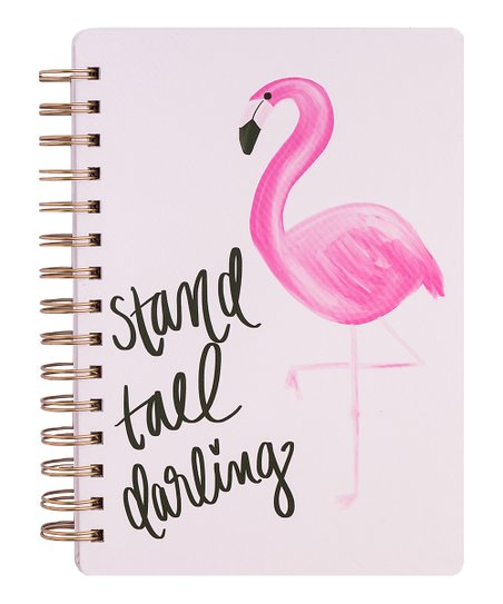 Stand Tall Darling Spiral Notebook