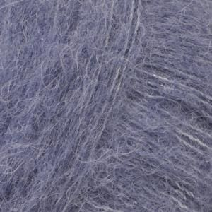 Brushed Alpaca Silk Uni 13 Denim Blue Garn