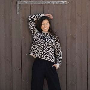 Strikk The Look: Leopard-genser Tmp