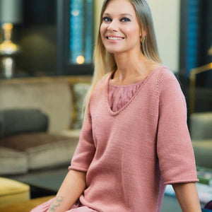 Strikk The Look: Rose topp dus rose Katalog