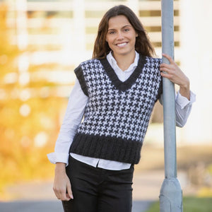 Strikk The Look: Seriøs-vest Katalog