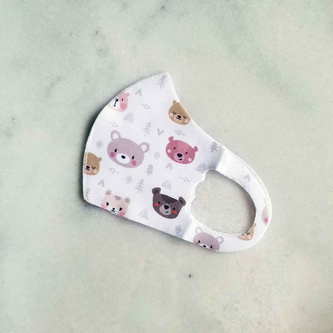 Kids Bear Mask