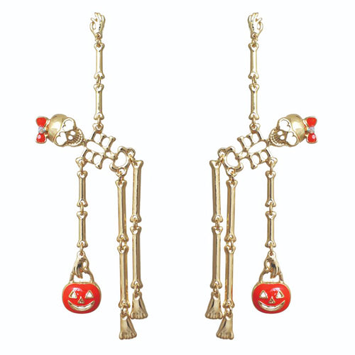 Skeleton Dangle Earrings