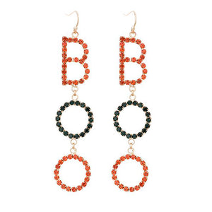 """Boo"" Earrings"