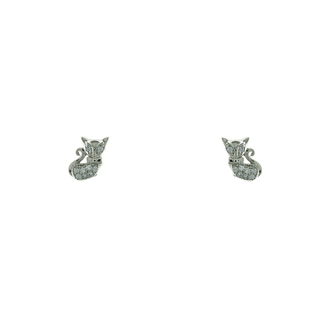 Feline Earrings