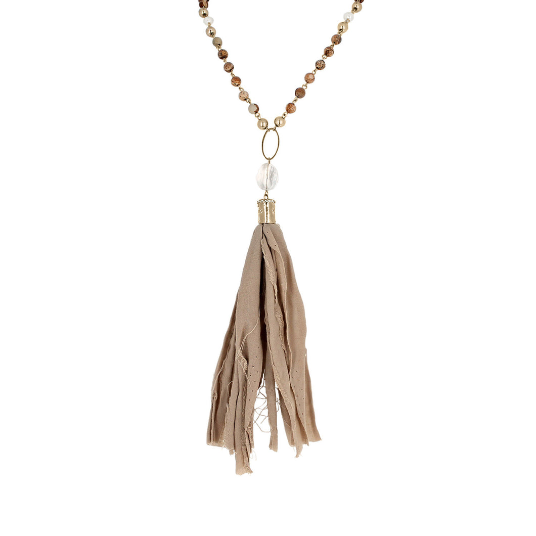 Kinsley Tassel Necklace