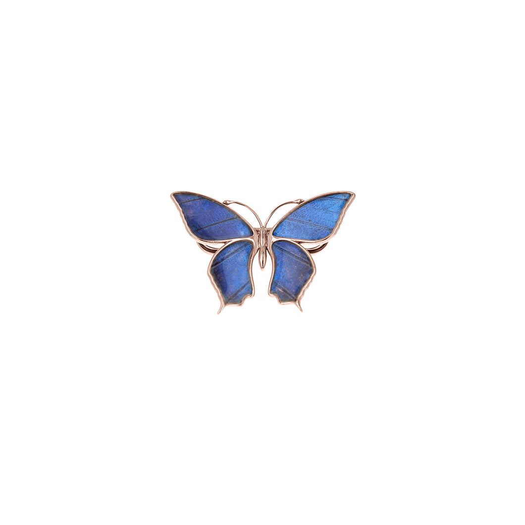 Blue Morpho Pin