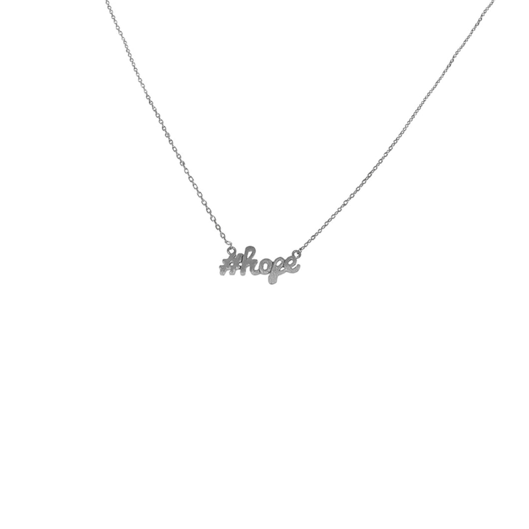 #Hope Necklace
