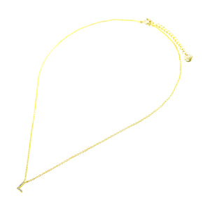 "Letter ""L"" Necklace"