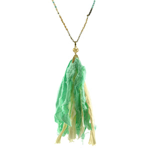 Tori Tassel Necklace
