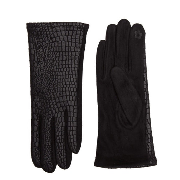 Snakeskin Touchscreen Gloves