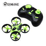 Eachine E010 Mini UFO Remote Control Quadcopter Drone 2.4Ghz 4 Channels 6-Axis Gyro with Headless Mode and One Key Return Quadcopter RTF Mode 1 or Mode 2