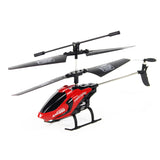 Dual Propeller Helicopter 3 Channel 2.4GHz Mode 2 RTF Gyro Remote Control Drone Toy