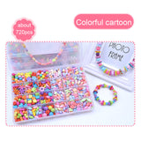 Colorful Jewelry Making Beads - DIY Kit for Making Jewelry, Necklaces, Bracelets, and more