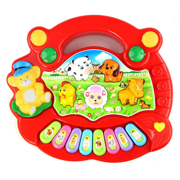 Animal Farm Piano for Babies (2 Colors)