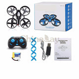 Mini Drone 6 Axis Gyro RC Micro Quadcopters with Headless Mode and One Key Return