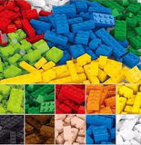 Building Blocks DIY - Use Your Imagination to Create Shapes, Buildings, and Structures (500 Pcs or 1000 Pcs)
