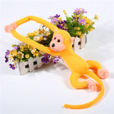 Children's Plush Long Arm Hanging Monkey Sleeping Comfort Doll - 9 Styles (1 pc)