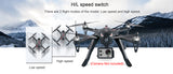 Bugs 3 Brushless RC Helicopter 80KM/H Remote Control Professional Drone with Camera Holder (4k GoPro Camera - Not Included)