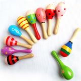 Colorful Baby Rattle - Musical Instrument (1 pc)
