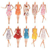 Barbie/Fashion Doll Accessories - 12 Beautiful Dresses (12 pcs)
