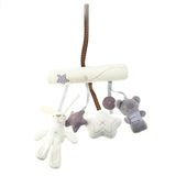 Plush Hanging Toy for Cribs and Strollers - Soft Activity Toy For Kids (1 pc)