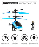 Induction Flying Dual Propeller Helicopter with 2 Channels - RTF Remote Control Helicopter Toy